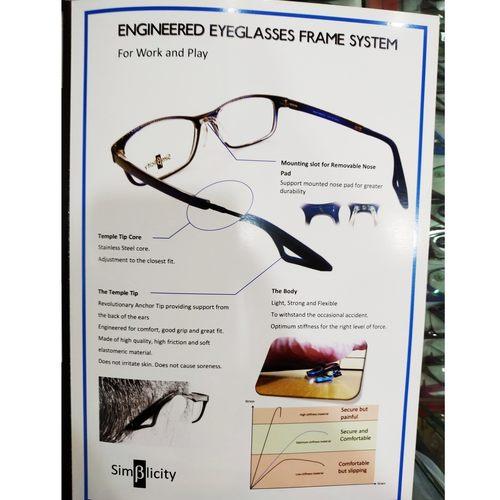 Beta-Simplicity Active Eyewear M0003 with cr39 1.56 mc emi