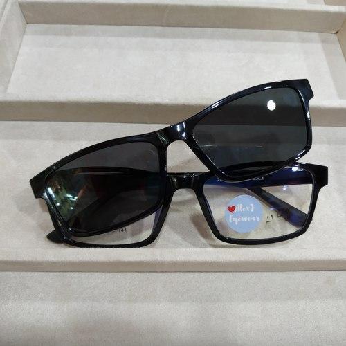 AlexJ Eyewear 2076 (magnetic clip on) with CR39 mc emi