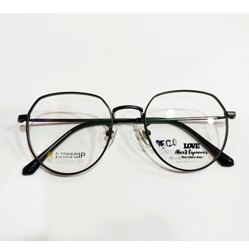 AlexJ Eyewear beta-titanium 8110 with cr39 1.56 mc emi