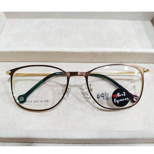 AlexJ Eyewear 6118 with cr39 1.56 mc emi