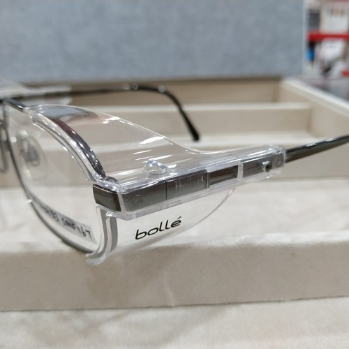 BOLLE OM167 Gunmetal 53 with single vision safety lens uncoated stock