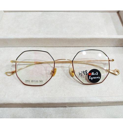 AlexJ Eyewear 5862 with cr39 1.56 mc emi