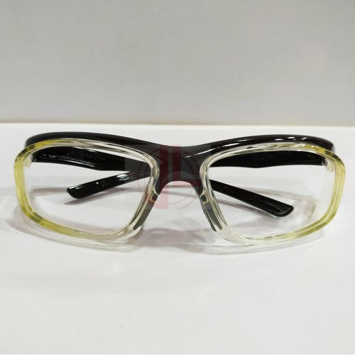 Pentax safety frame with safety lenses uncoated stock