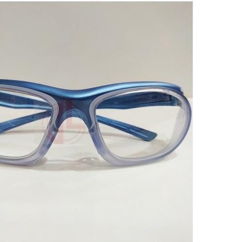 Worksafe Uranus blue with safety lenses uncoated stock