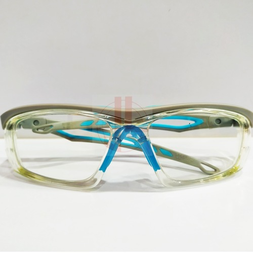 Worksafe Steed R Clear Grey with safety lenses uncoated stock