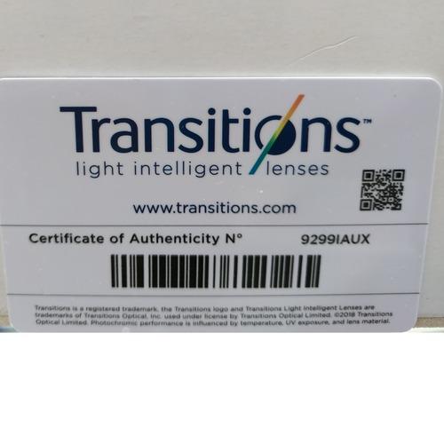 Transition Signature 1.67 HMC Grey