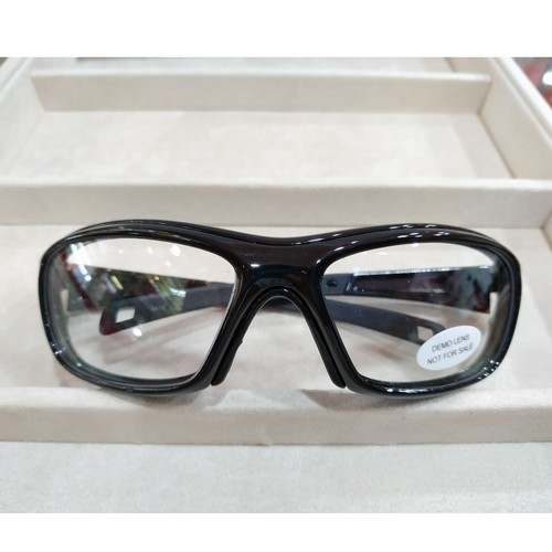 BOLLE Drift Asian PF616 Glossy Black with signle vision safety lens uncoated stock