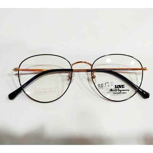 AlexJ Eyewear beta-titanium 2006 with cr39 1.56 mc emi