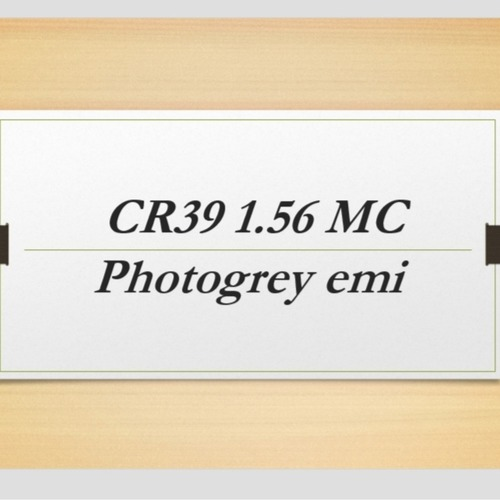 CR39 1.56 mc photogrey