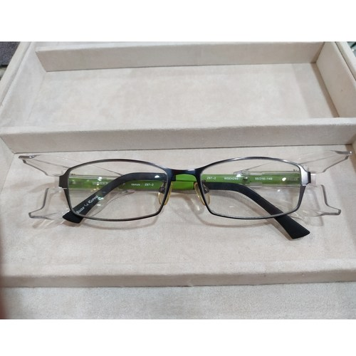 Worksafe Venus Green with safety lenses uncoated