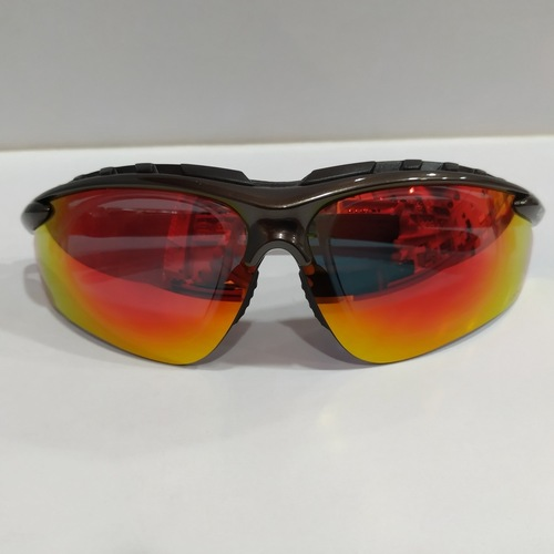 Sworke Cyclone X Olive with Red Revo mirror shade UV400 protection
