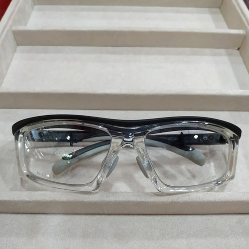 Worksafe Steda II Clear with safety lenses uncoated stock