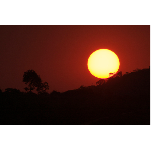 Sunset Bandipur