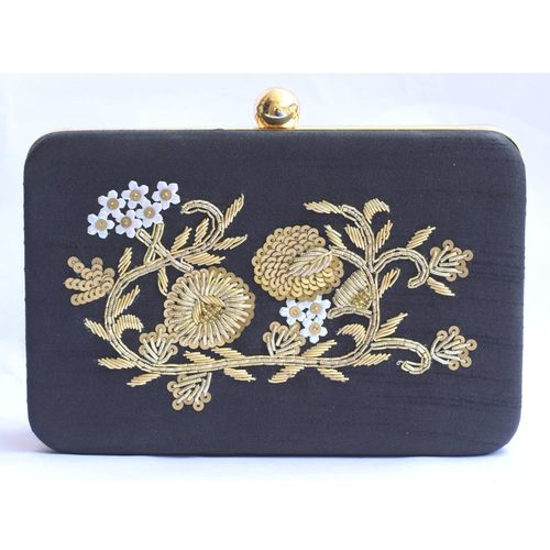Zardosi Box Clutch