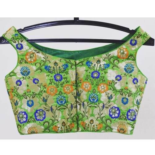 Floral Banarasi Designer Blouse
