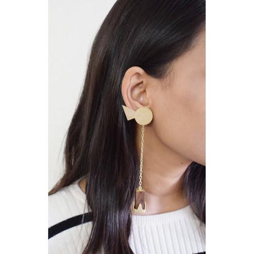 Birdie Cuboid Earring