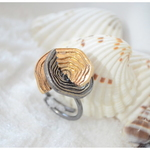 Dual Plated Shell Ring