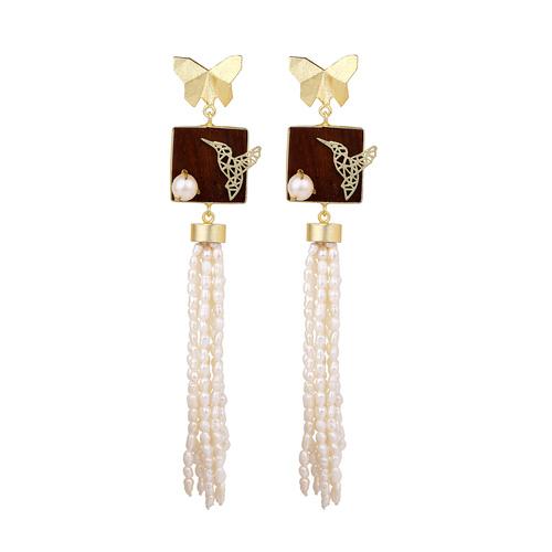 Breeze Earring- Pearl