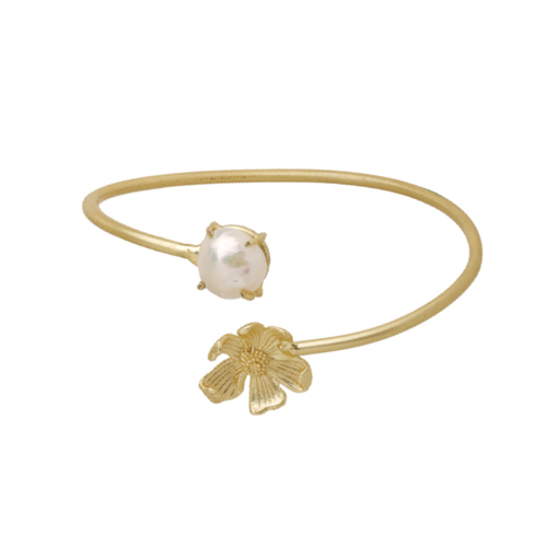 Bloom Cuff- Pearl