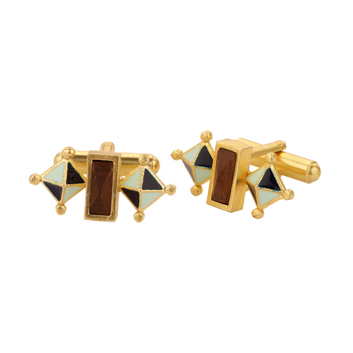 Giza Cufflinks- Blue