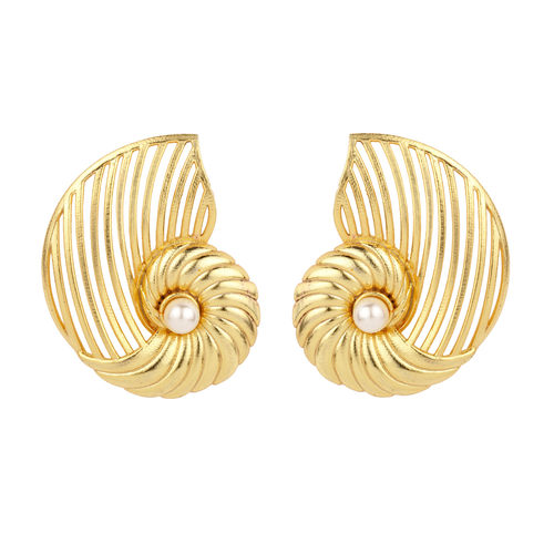Nautilus Shell Ear Cuff