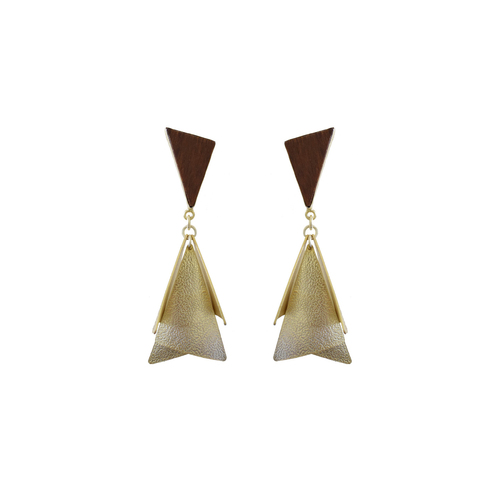 Triangle Hanging Earring