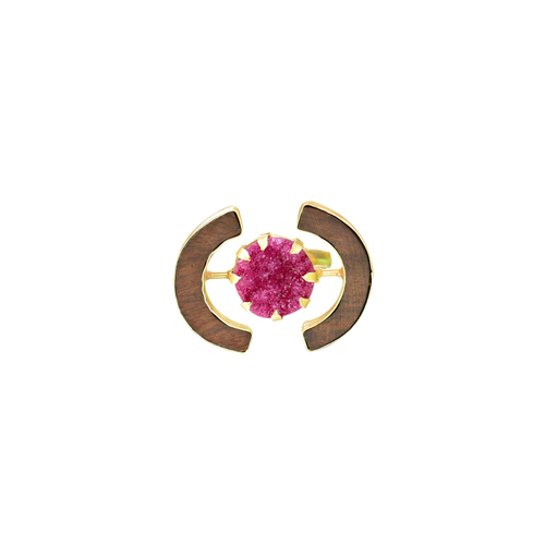 Cocktail Ring- Pink