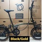 Latest Gen 4 Pikes Bike 16inch 6 Speed Foldable Bicycle w Sturmey Archer internal hub