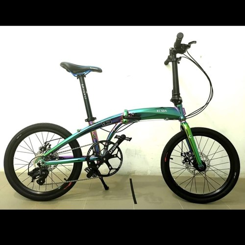 Kodak 8 speed 20 foldable bicycle