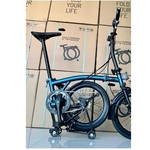 Pikes tri-fold 16 foldable bicycle