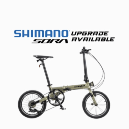 Camp Lite foldable bicycle