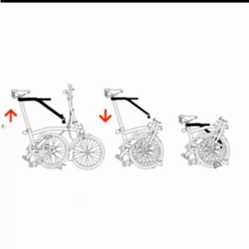 Foldable Child seat frame not Pere for Brompton - pre orders only .