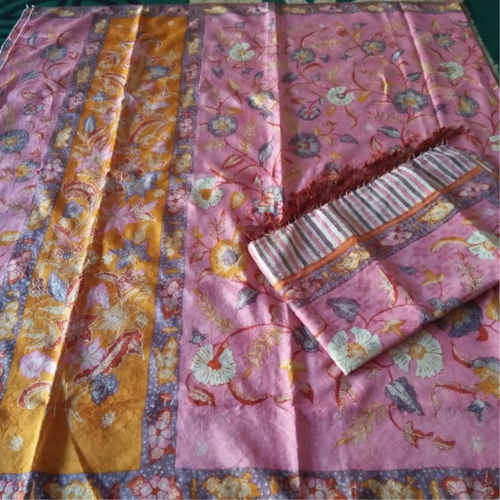 woven silk hand drawn sarong & selendang set