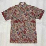 Batik print short sleeve shirts ( size XXL )