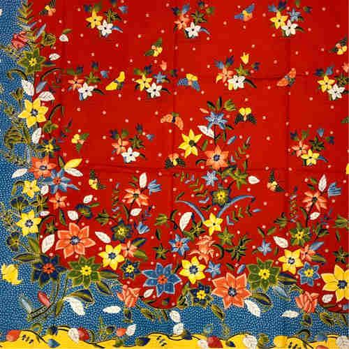 Batik Fabric - Hand drawn
