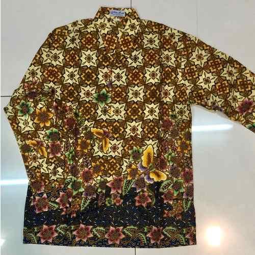 Batik print long sleeve shirts