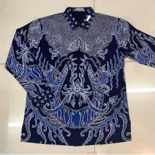 Hand drawn batik shirt cotton