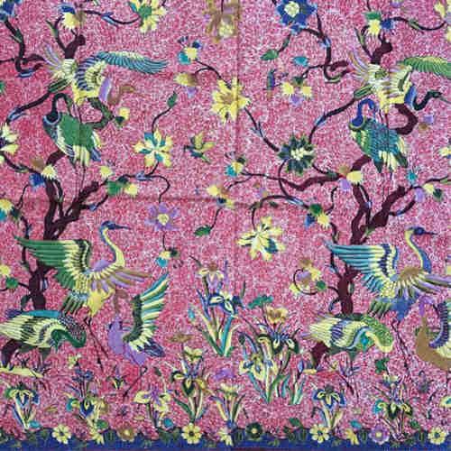 Fine hand drawn batik fabrics
