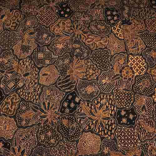 hand drawn batik fabric