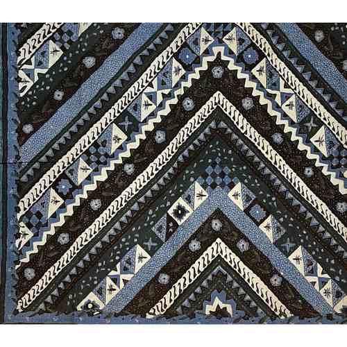 hand drawn batik fabrics