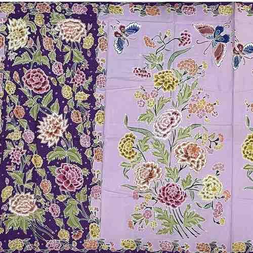 Hand drawn batik sarong ( hip wrap ) fabrics
