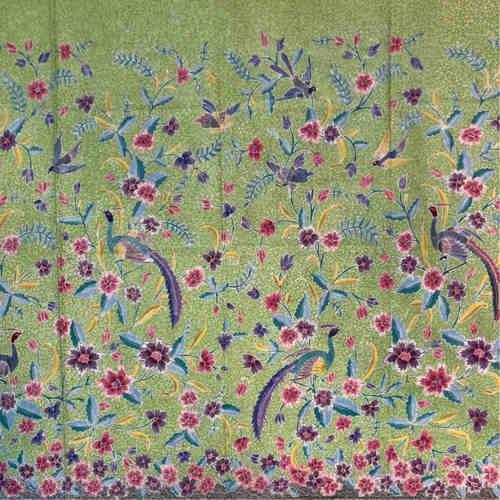 Premium hand drawn batik fabric