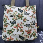 Batik contemporary tote bag