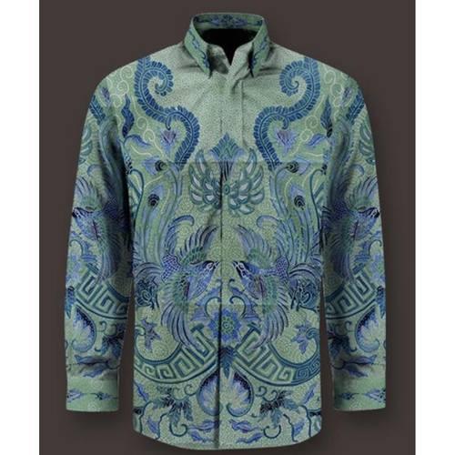 Hand drawn cotton batik shirt