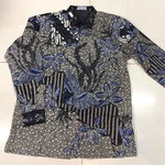 Hand drawn cotton batik shirt