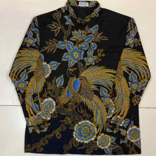 Batik Shirt, hand drawn