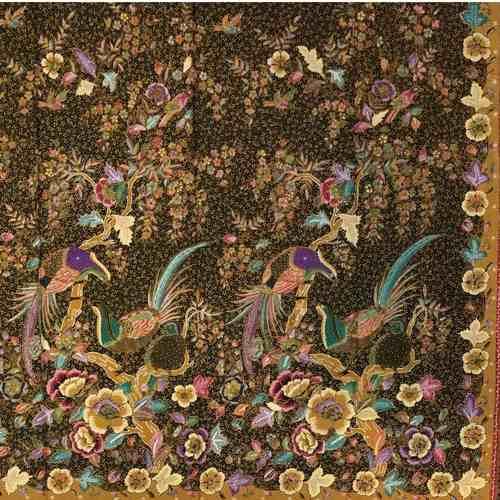 Black Beauty II ( Fine hand drawn batik )