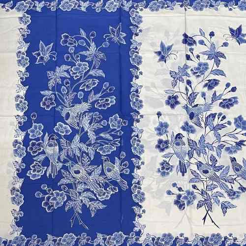 Batik Cotton Fabrics ( hand stamped )