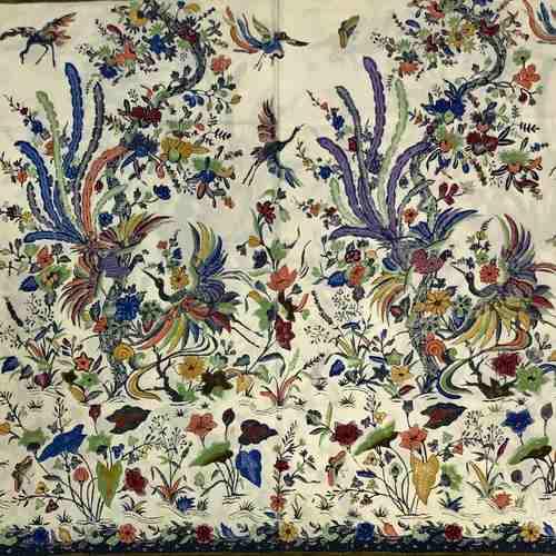 Fine Batik Hand Drwan Fabric