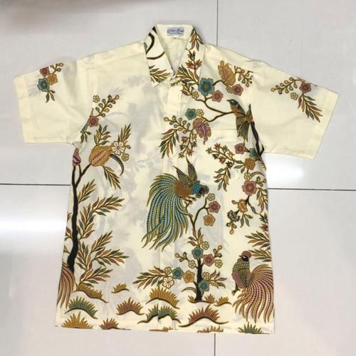 Batik print short sleeve shirts  size XL